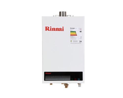 Aquecedor de Água à Gás RINNAI REU 1002 FEH 12 Litros/min