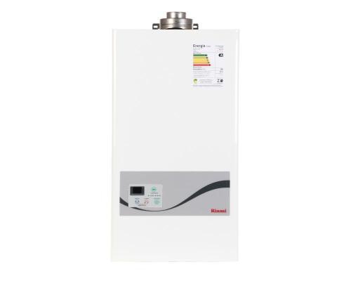 Aquecedor de Água à Gás RINNAI REU 1602 FFA  22,5 Litros/min Fluxo Balanceado