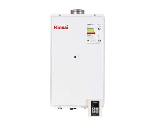 Aquecedor de Água à Gás RINNAI REU 2402 FEA 32,5 Litros/min