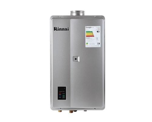 Aquecedor de Água à Gás RINNAI REU 2402 FEH Prata  31 Litros/min