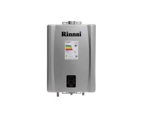 Aquecedor de Água à Gás RINNAI REU E 17 FEH PRATA 17 Litros/min