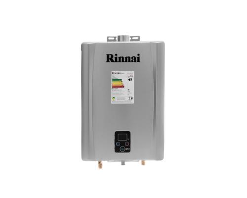 Aquecedor de Água à Gás RINNAI REU E 21 FEH PRATA 21 Litros/min